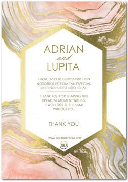 Lupita Salazar Thank You Card