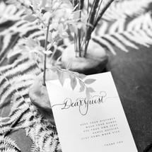 Dear Guest cards