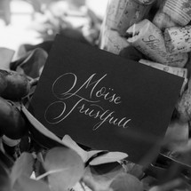 Double sided placecards
