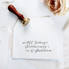 Personalised wax seal + Envelope