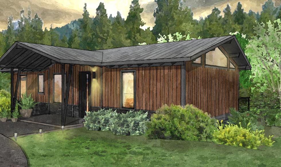 Modern Efficiency Home