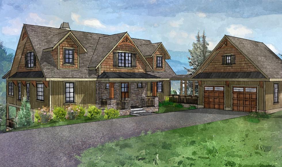 Mountain Style Home Design