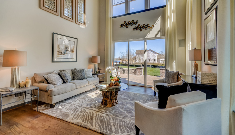 Open Concept Living Space