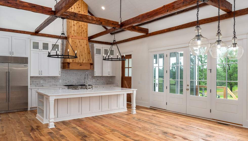 Open Concept Farmhouse Kitchen