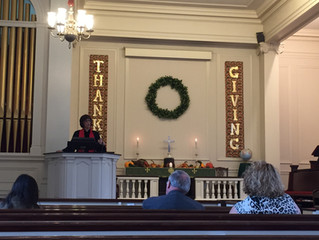 Thanksgiving at Union Congregational Church