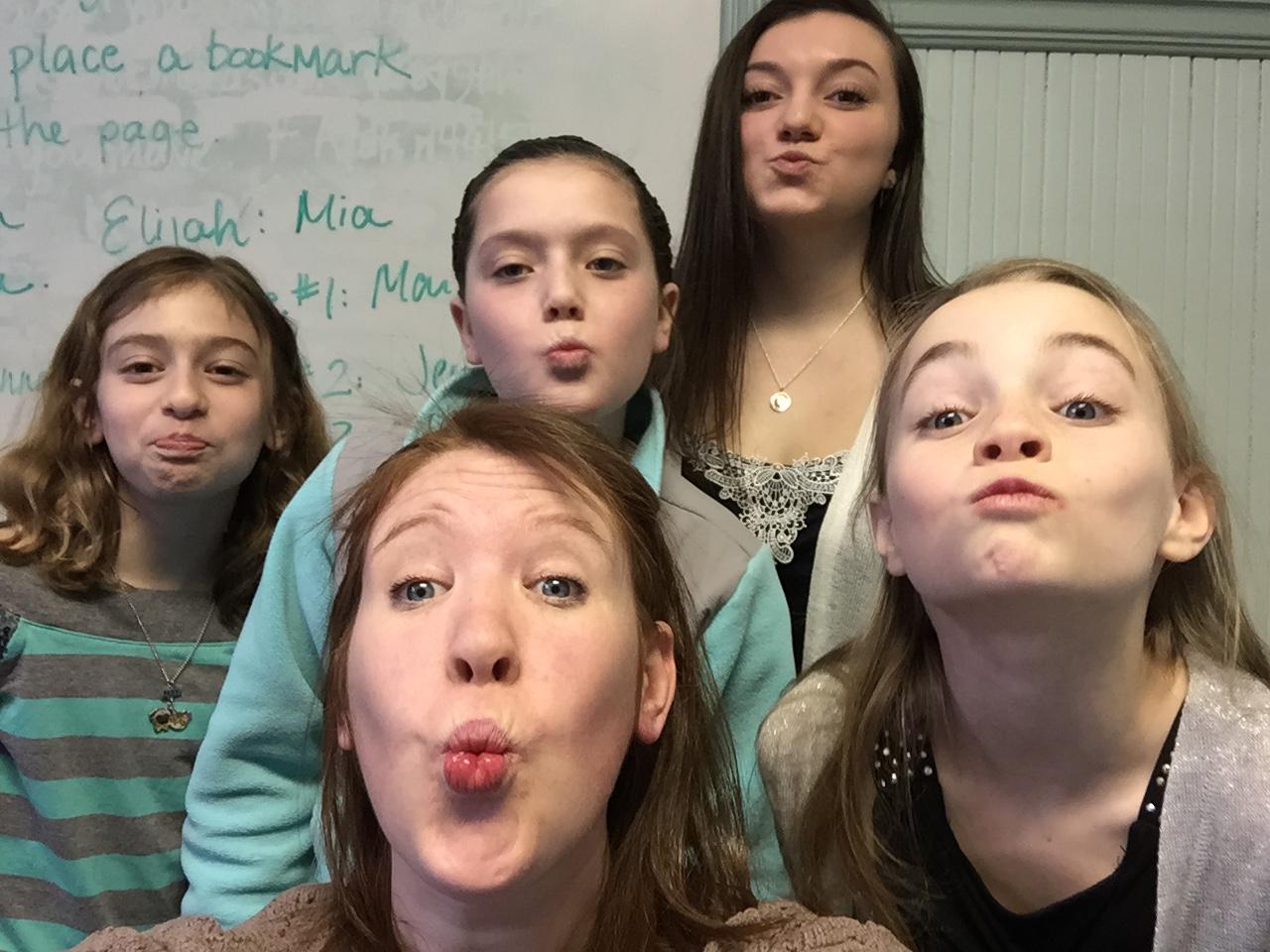 A little fun in Sunday School
