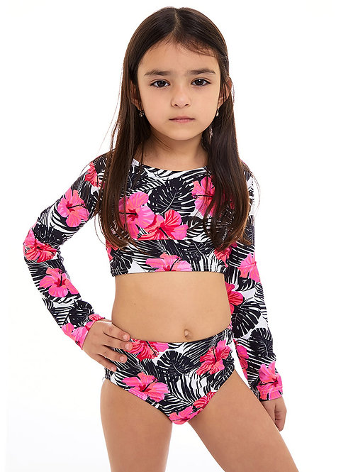 Malibu long sleeves bikini