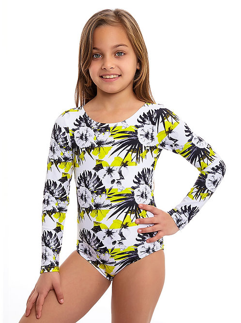 Lemon long sleeves one piece