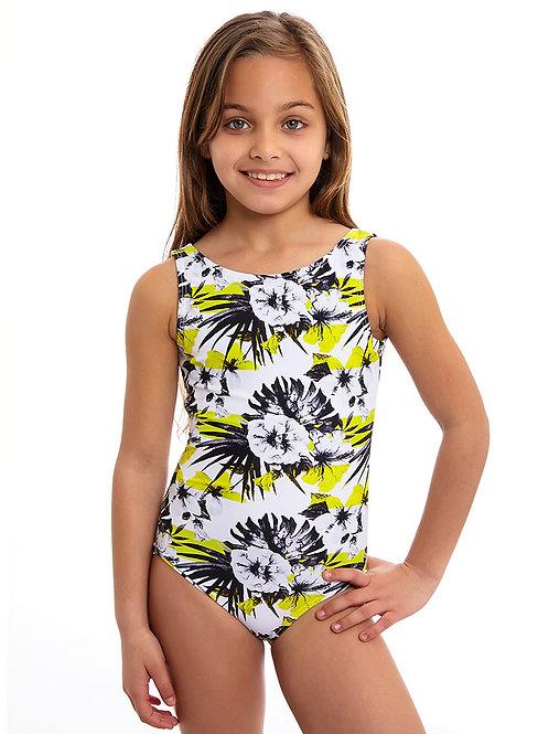 Lemon short sleeves one piece