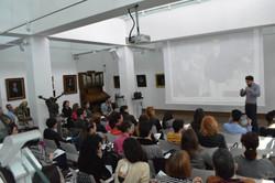 Първа лекция в галерия Униарт в НБУ