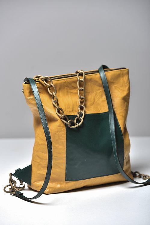 Leather Bag (Shoulder and Back-pak)