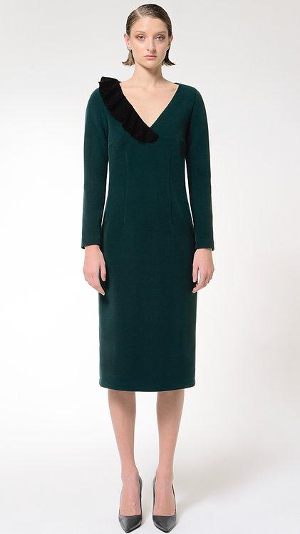 Calliope: Wool Pencil Dress