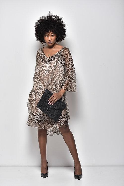 Silk and Lace Dress