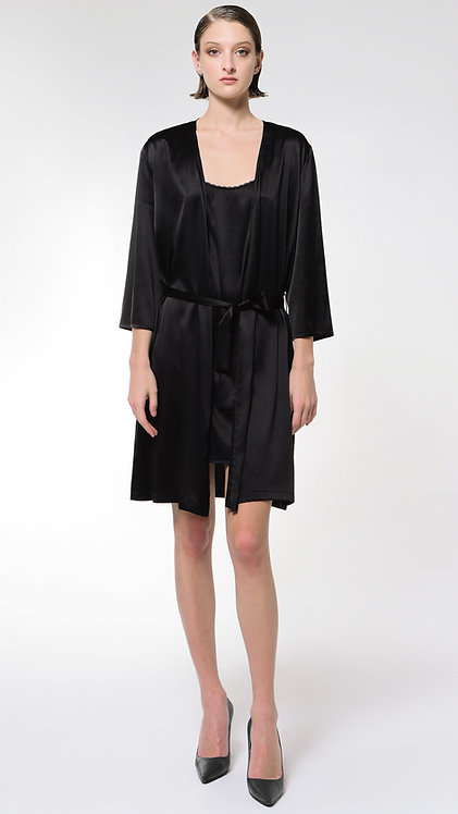 Lachesis-Pure Silk Kimono (Nightwear)