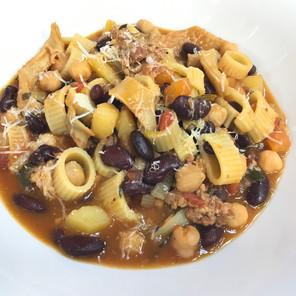 Soppa tal-fazola u kirxa
