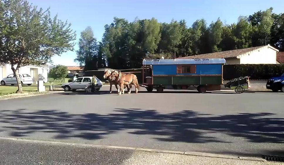 Vidéo du départ