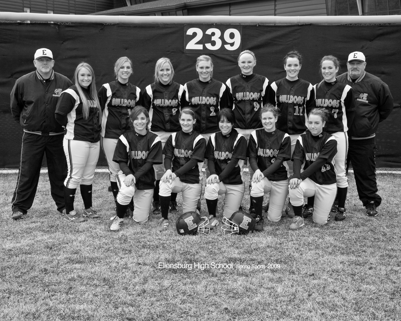 2009 Softball Team