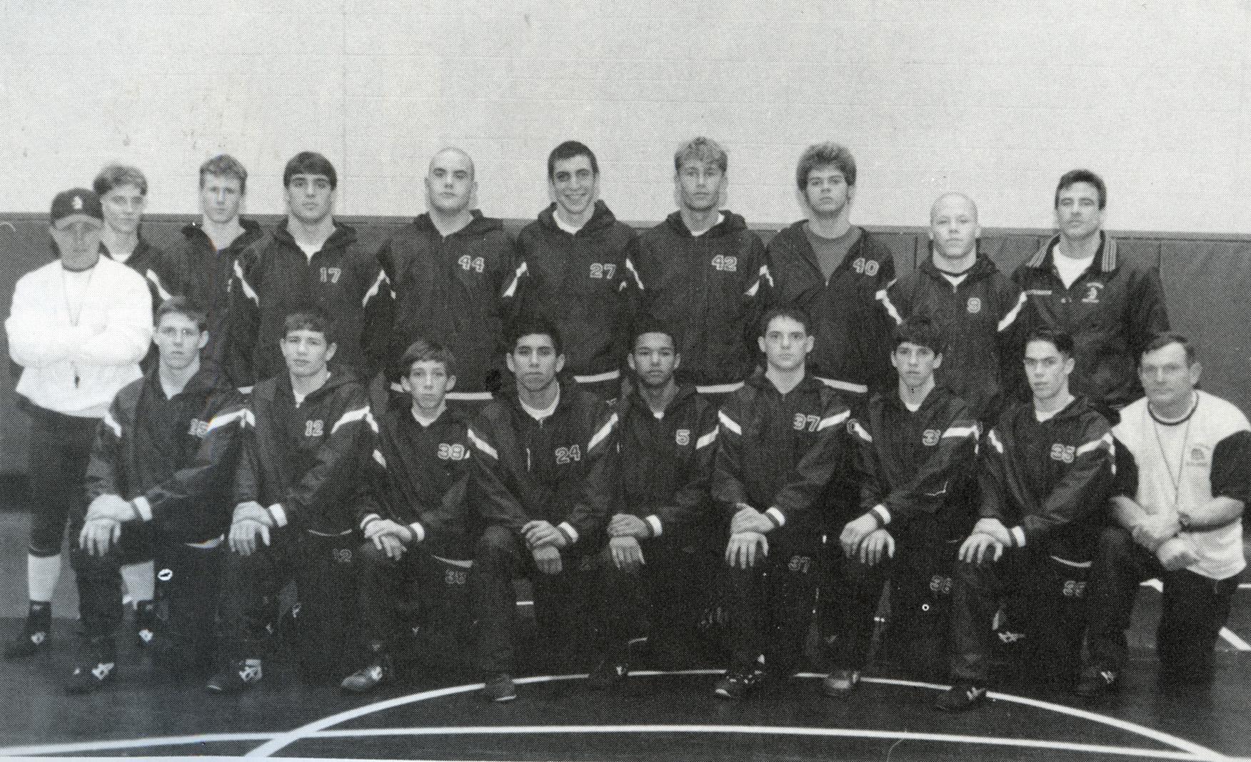 1996 Wrestling team