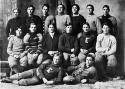 1908 football team picture