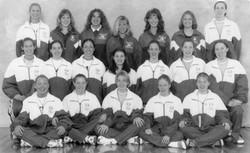 1997 Volleyball Team