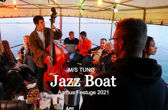 Jazz Boat MS TUNØ Aarhus Festuge