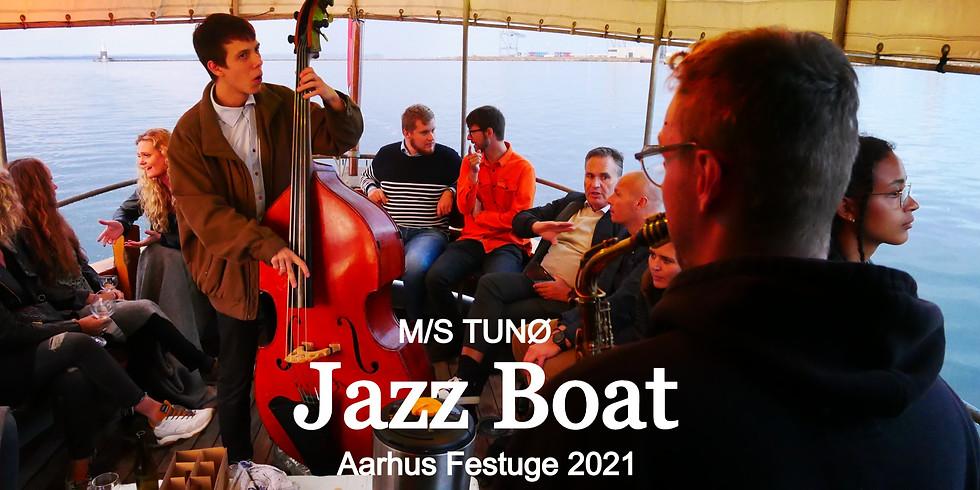Jazz Boat - Karmen Rõivassepp & Jens Christian Kwella - M/S TUNØ Aarhus Festuge 2021