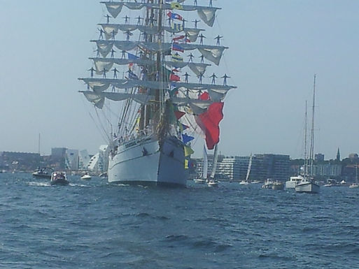 The Tall Ships Races, Parade of sail
