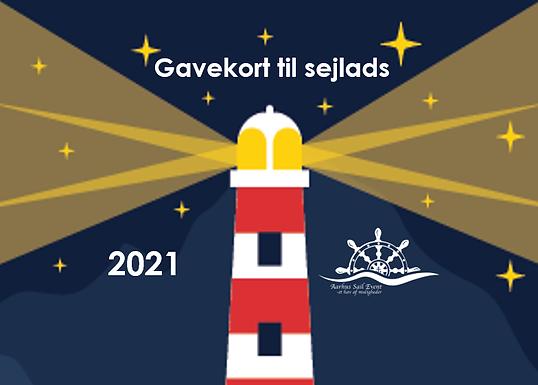 Gavekort til sejlads i 2021