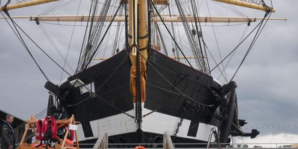 KOMBI-BILLET - sejlads og entré hos Fregatten Jylland 3. juli - 2. august