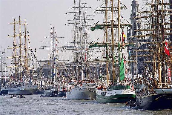 Havnerundfart til The Tall Ships Races Aarhus