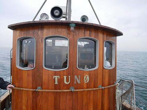 Sejlads fra Tunø til Samsø