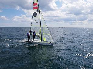 Teambuilding 49'er med Aarhus Sail Event