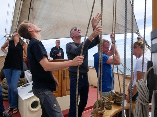 Teambuilding på sejlskibe