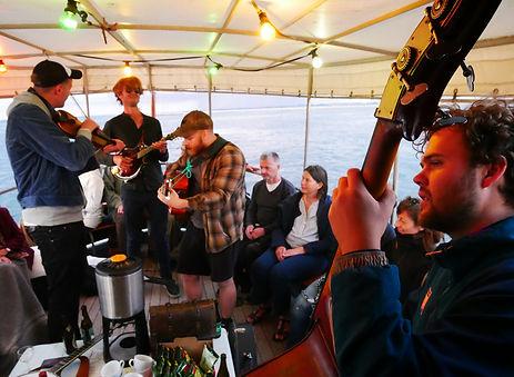 Jazz koncert på vandet i Aarhus