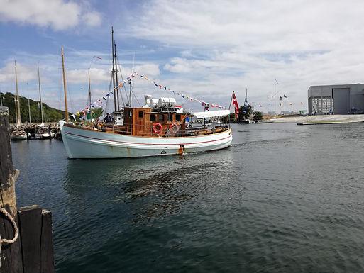 Sejlads på Aarhus Bugten forår 2019 samt havnerundfart med guide