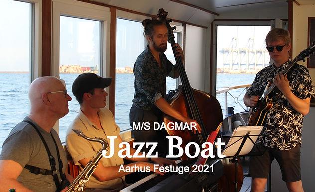 Jazz Boat M/S DAGMAR Aarhus Festuge 2021