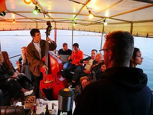 Jazz Boat Aarhus med Aarhus Sail Event