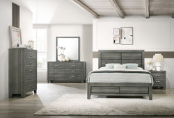 Amber Gray 5pc Bedroom