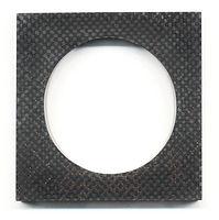 RStramitz Bracelet Carbonfibre Acryl wit