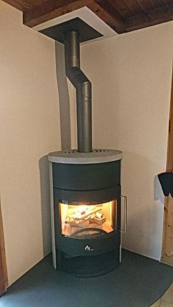 Tubage ancienne cheminée  Valais Saxon