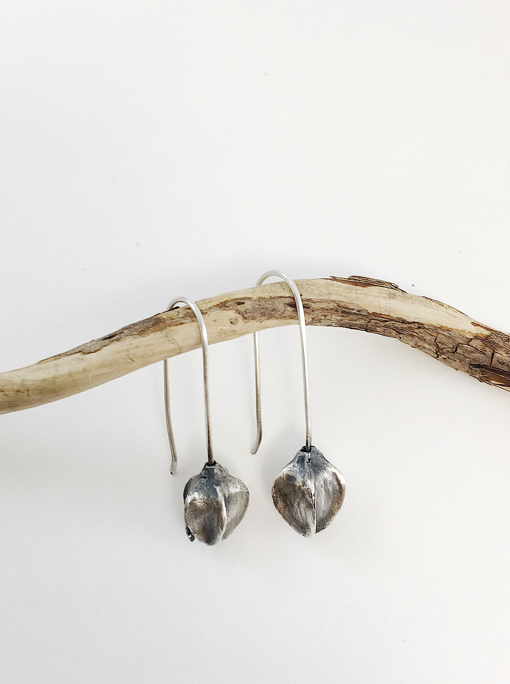 nature jewelry nature jewelry seed pod earrings
