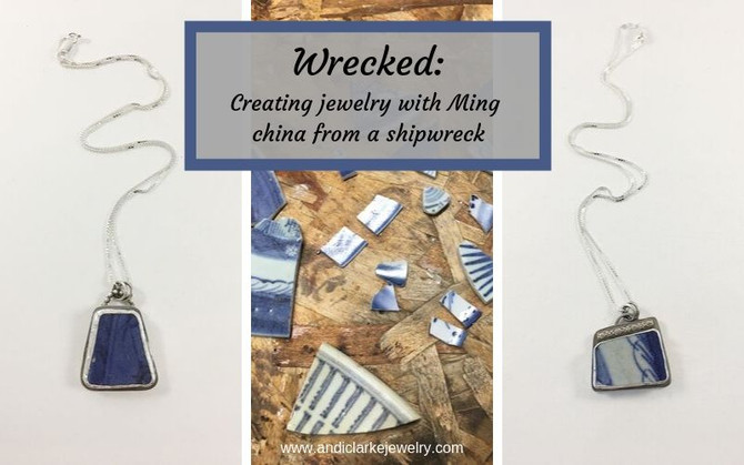 Wrecked - creating jewelry with Ming China from an Indonesian shipwreck