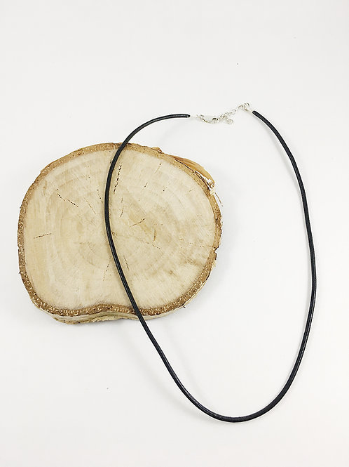 leather necklace, boho necklace, natural leather necklace, black leather necklace, handmade leather necklace