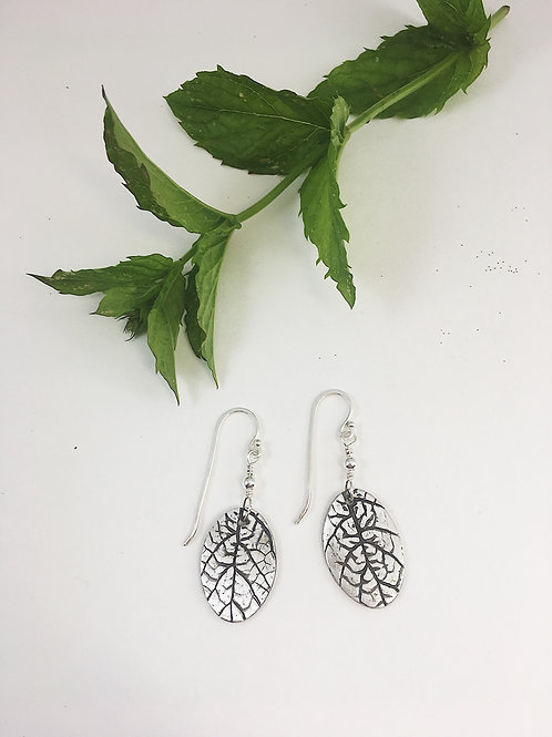 nature jewelry, leaf earrings, leaf jewelry, silver earrings, boho earrings, nature jewelry, nature earrings