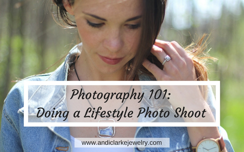 blog post  on how to do a life style photo shoot.