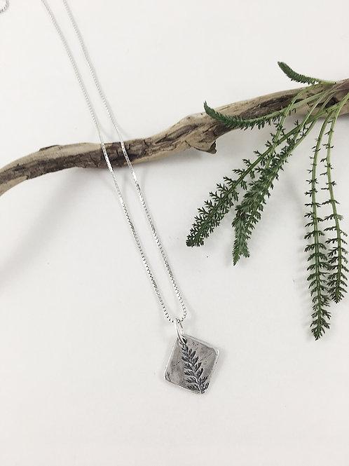 fine silver leaf pendant, nature jewelry, leaf pendant, natural leaf silver jewelry, nature pendant, handmade silver jewelry