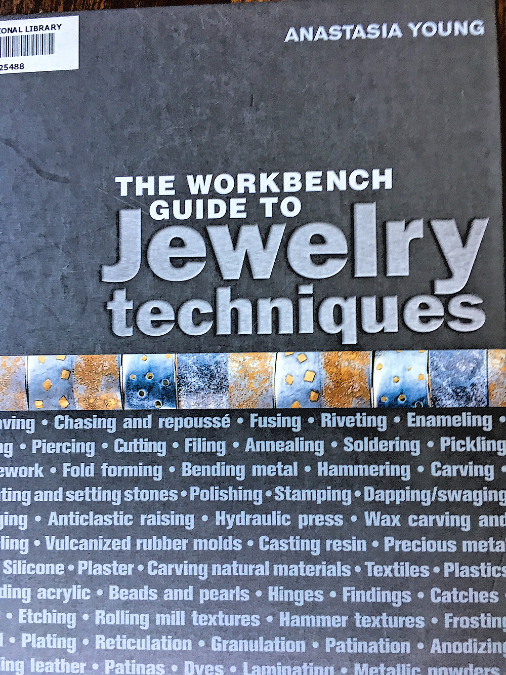 Book cover - Workbench Guide to Jewelry Techniques