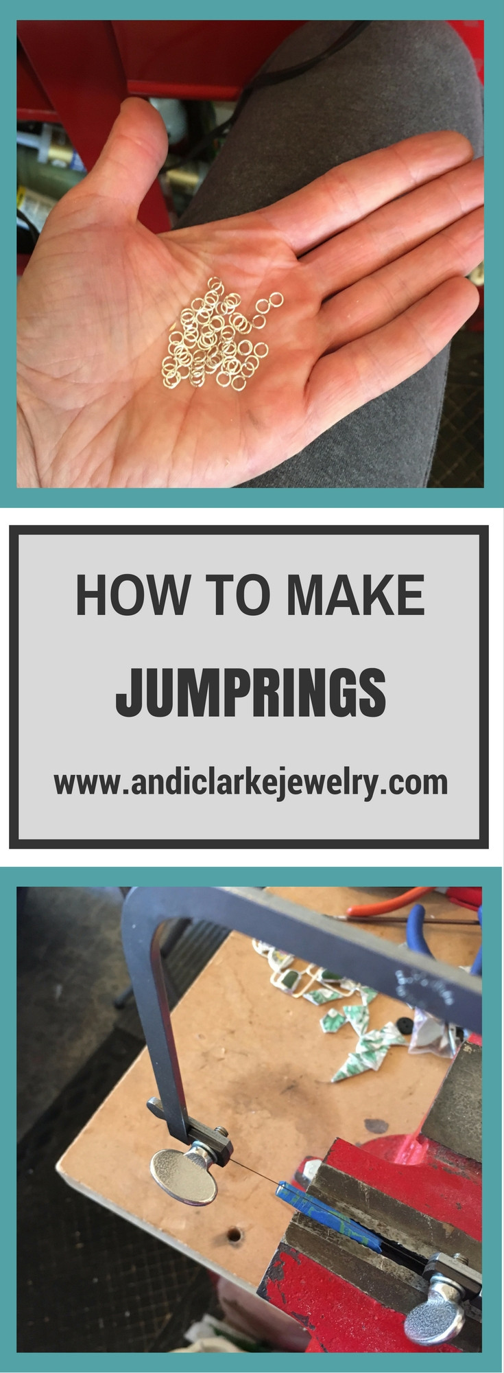 How to make jewelry jump rings