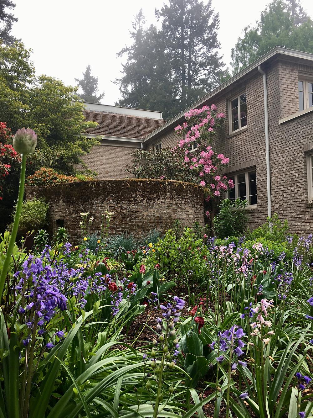 Spring flowers, Lakewold Gardens