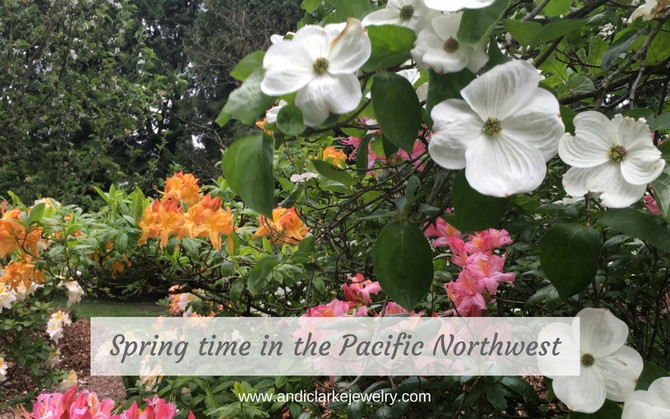 Spring time in the Pacific Northwest